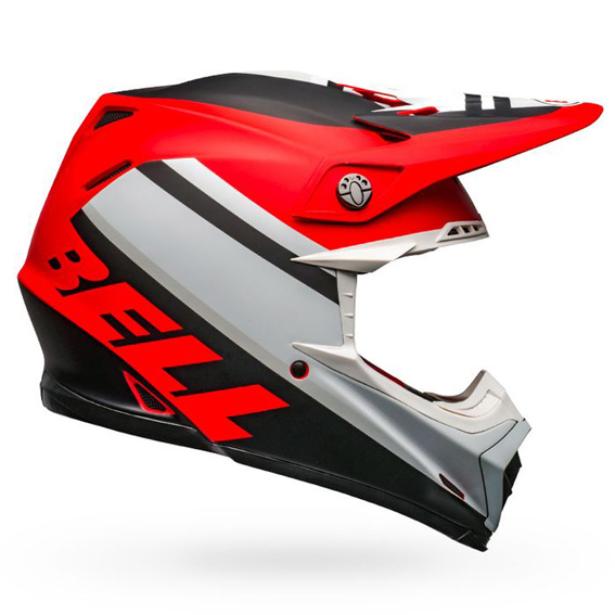 super popular great deals watch 2020 Bell Moto-9 Mips Prophecy Helmet White/Red/Black