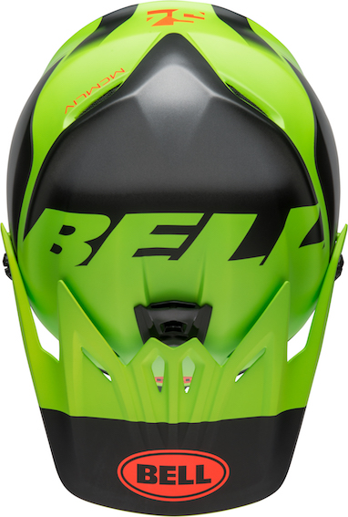 2020 Bell YOUTH Moto-9 MIPS Glory Helmet Matte Green/Black/Infrared - bell moto 9 youth mips dirt helmet glory matte green black infrared top