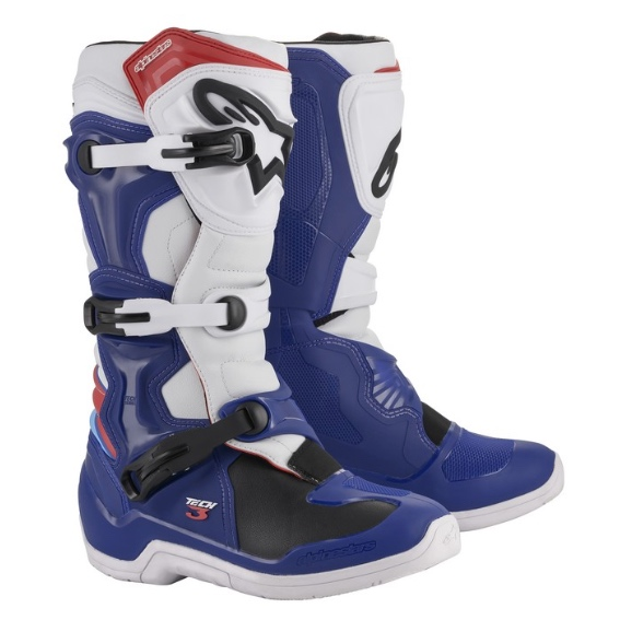 Alpinestars Tech 3 Boots Blue/White/Red - 2013018 723 fr tech3 boot