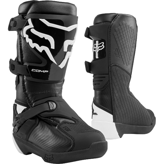 2020 fox comp youth boot black - 24014 001 1