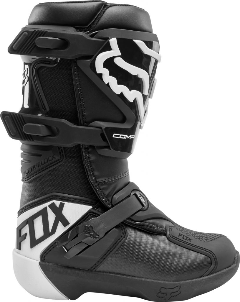 2020 fox comp youth boot black - 24014 001 2