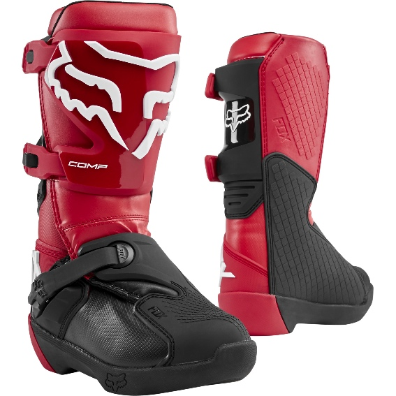 2020 Fox Comp YOUTH Boot Flame Red - 24014 122 1