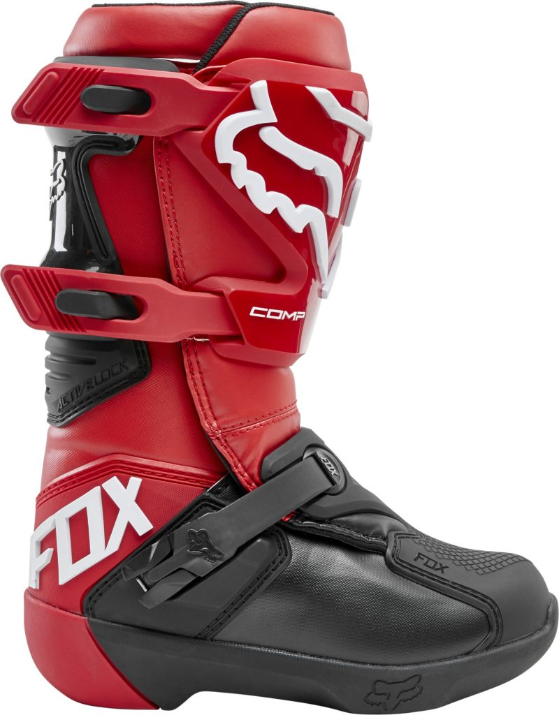 2020 fox comp youth boot flame red - 24014 122 2