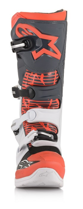 Alpinestars Tech 5 Boot White/Grey/Red Fluo - A15015213309 1