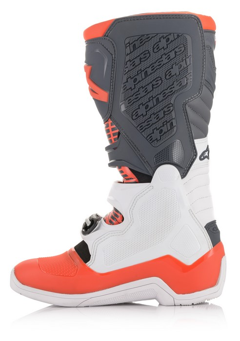 Alpinestars Tech 5 Boot White/Grey/Red Fluo - A15015213309 2