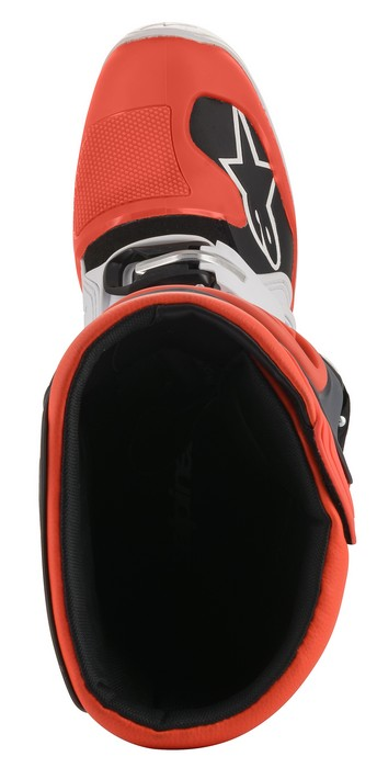 Alpinestars Tech 5 Boot White/Grey/Red Fluo - A15015213309 5