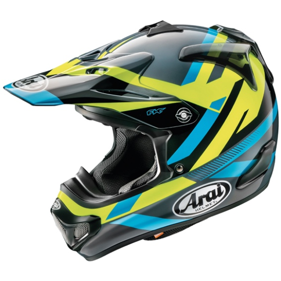 Arai MX-V Machine Helmet - ARMXV MACHINE GLOSS L
