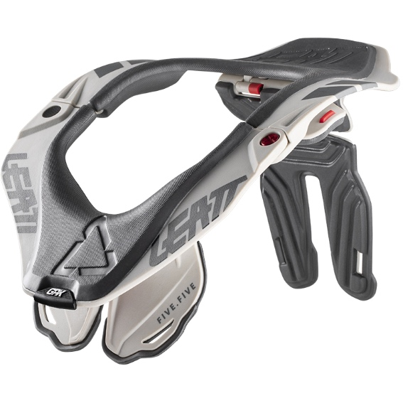 Leatt GPX 5.5 Neck Brace Steel - Leatt NeckBrace GPX5.5 Steel front 1020003870