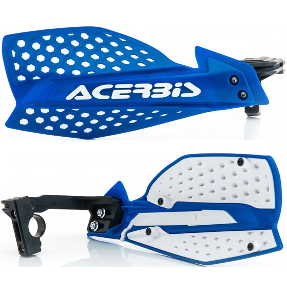 Acerbis x-ultimate handguards blue/white - x ultimate blue white