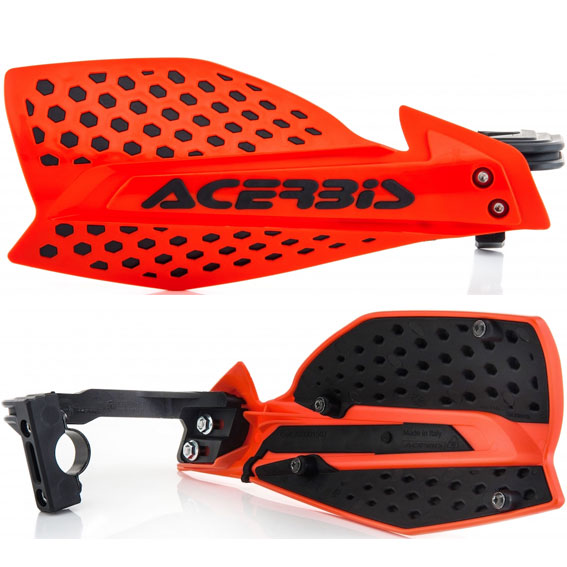 Acerbis X-Ultimate Handguards Red/Black - X Ultimate Red Black
