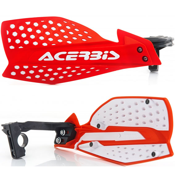 Acerbis X-Ultimate Handguards Red/White - X Ultimate Red White 1