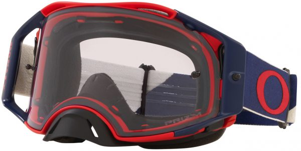 Oakley Airbrake MX Goggle Heritage B1B Red/Navy - Low Light Prizm Lens - 0OO7046 704686 scaled