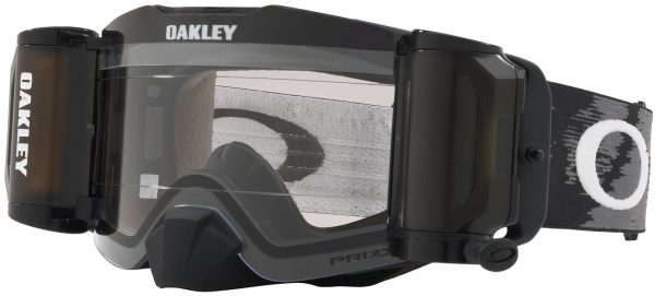 Oakley Front Line MX RR Roll Off Goggle Matte Black - Low Light Prizm Lens - 0OO7087 708753 scaled