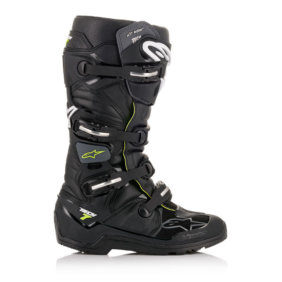 Alpinestars Tech 7 Enduro DRYSTAR Boot Black/Grey - A1262010609 1