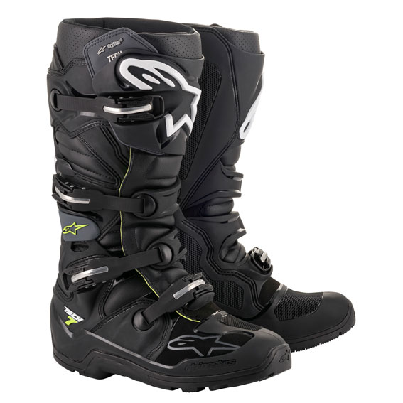 Alpinestars Tech 7 Enduro DRYSTAR Boot Black/Grey - A1262010609