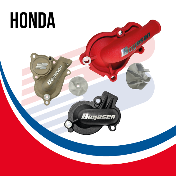 Boyesen Factory Racing SuperCooler Water Pump Kit Honda - BY HON SC