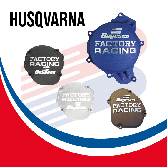 Boyesen Factory Racing Ignition Cover Husqvarna - BY HQV IC