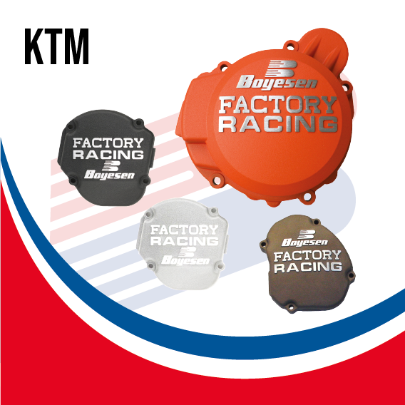 Boyesen Factory Racing Ignition Cover KTM - BY KTM IC