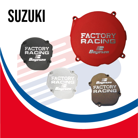 Boyesen Factory Racing Ignition Cover Suzuki - BY SUZ IC