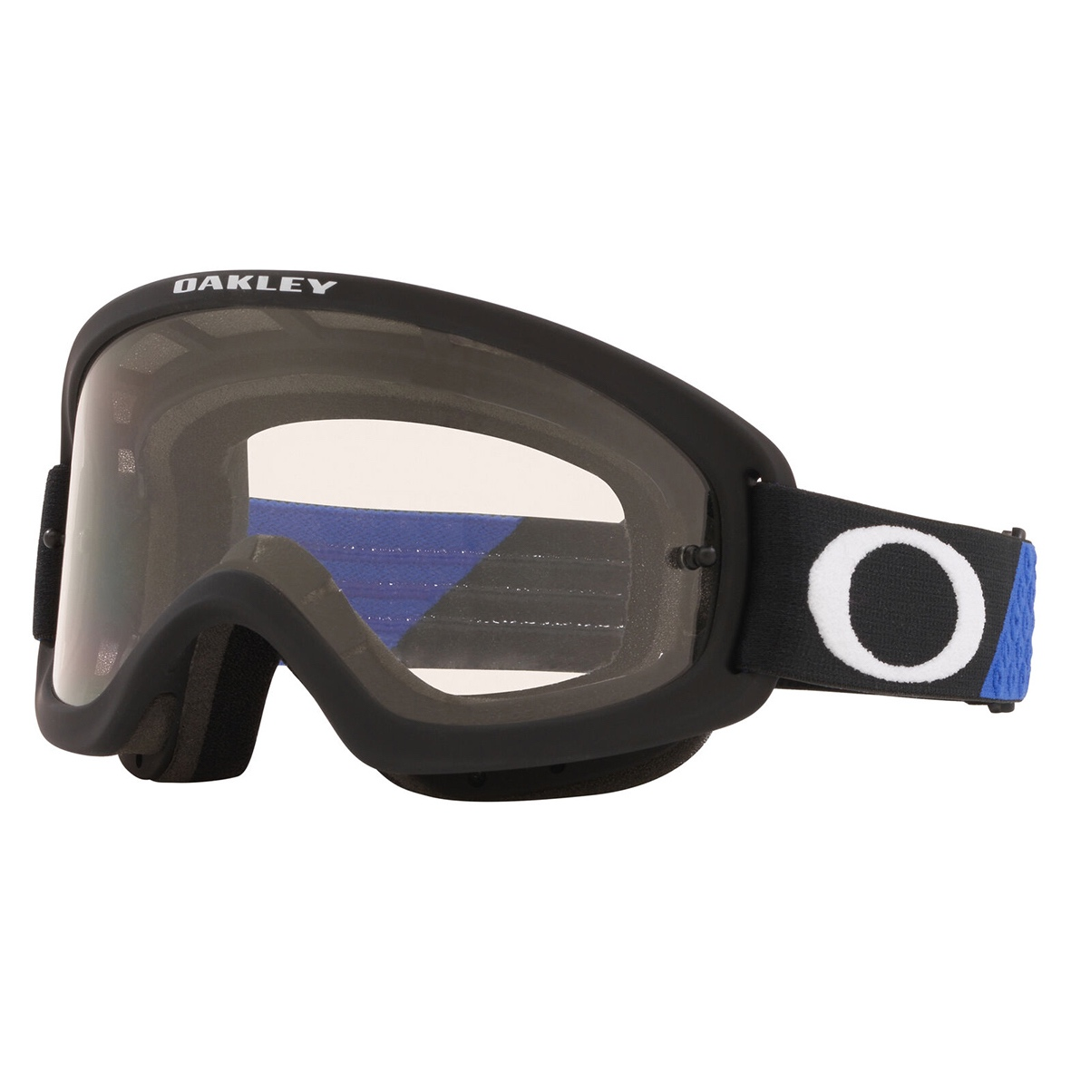 Oakley xs o frame 2. 0 pro youth goggle heritage b1b blue/black - clear lens - 0oo7116 711601