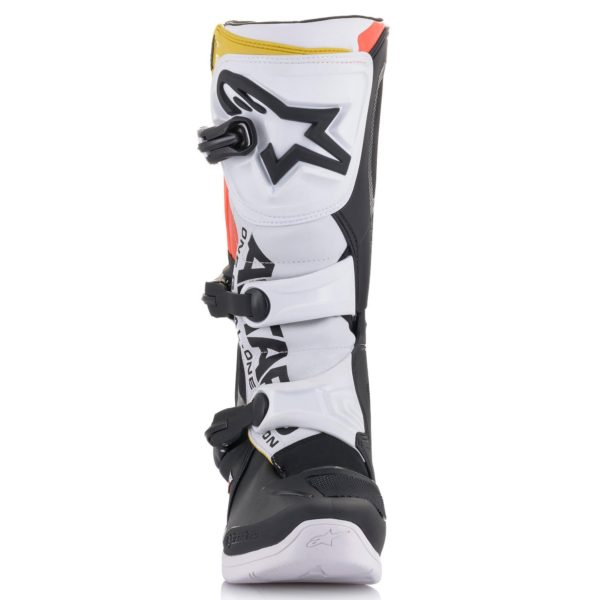 Alpinestars Tech 3 Boots Black/White/Red Flo - 2013018 1238 r1 tech 3 boot web 400f52b8 29ca 4fa1 93ac