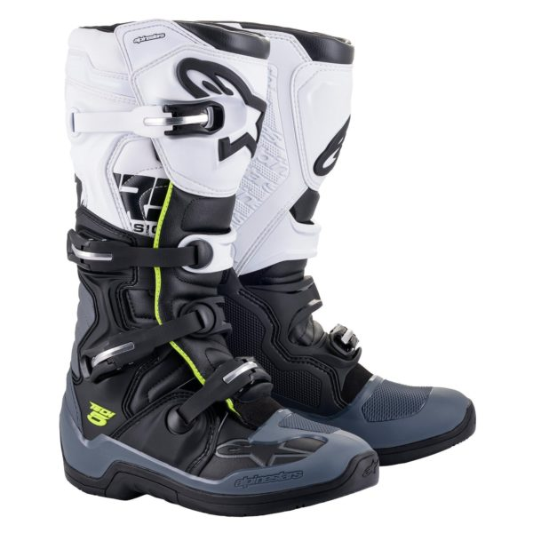Alpinestars tech 5 boots black/grey/white - 2015015 102 fr tech 5 boot web 7840bced 8e9e 4159 8345