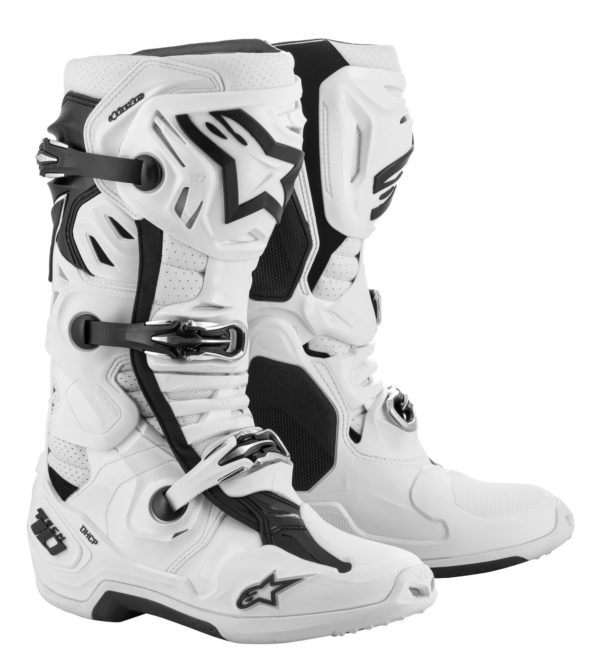 Alpinestars Tech 10 SUPERVENTED Boots White - Large 2010520 20 fr tech 10 supervented