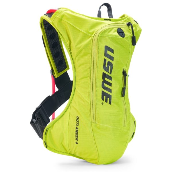 USWE Outlander 4 Hydration Pack Yellow - With 3 Litre Bladder - Outlander 4 Crazy yellow