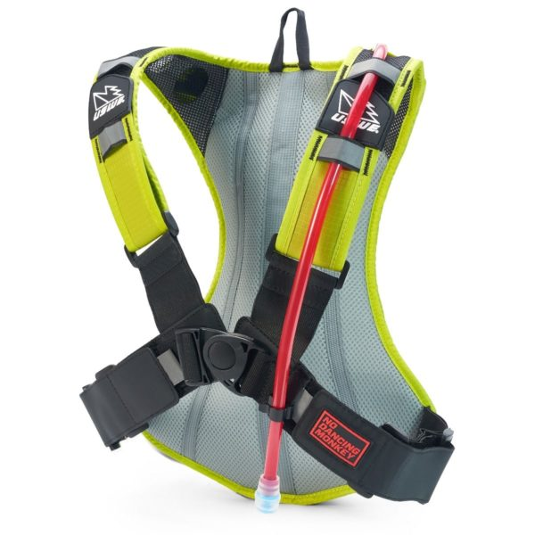 USWE Outlander 4 Hydration Pack Yellow - With 3 Litre Bladder - Outlander 4 Crazy yellow2