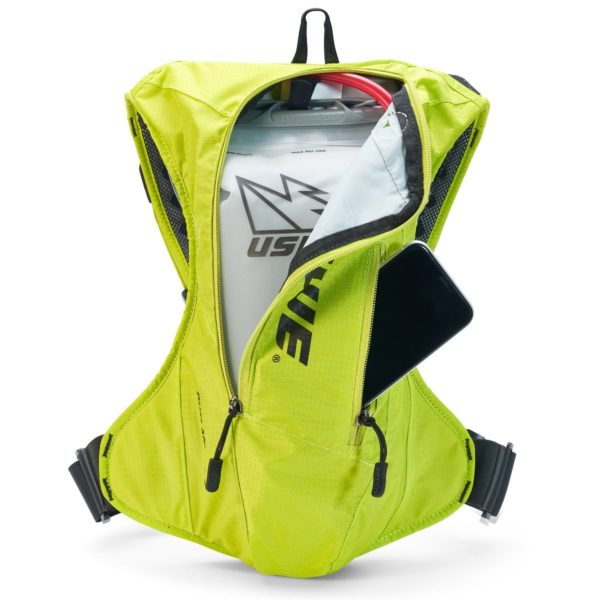 USWE Outlander 4 Hydration Pack Yellow - With 3 Litre Bladder - Outlander 4 Crazy yellow3