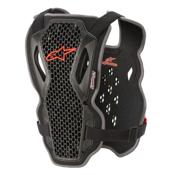 Alpinestars Action Chest Protector Black/Red - A670042113ML 1