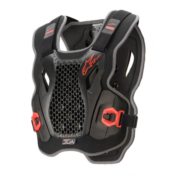 Alpinestars Action Chest Protector Black/Red - A670042113ML