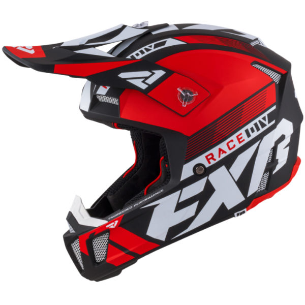 2021 fxr clutch boost helmet red - clutchboost helmet red 210619  2000 left