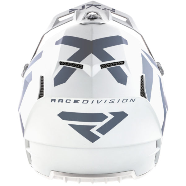 2021 FXR Clutch CX Helmet White - ClutchCX Helmet White 210617 0100 back