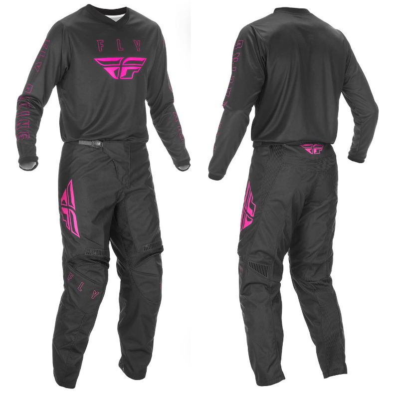 2021 fly f-16 youth kit combo black/pink - f 16 combo pink