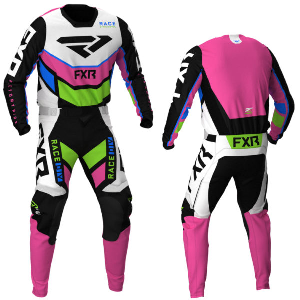 2021 fxr podium kit combo black/white/pink/lime/blue - podium blackwhiteepinklimeblue combo