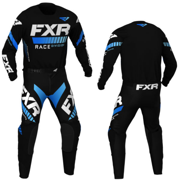 2021 fxr youth pro-stretch kit combo black/blue - revo blackblue combo