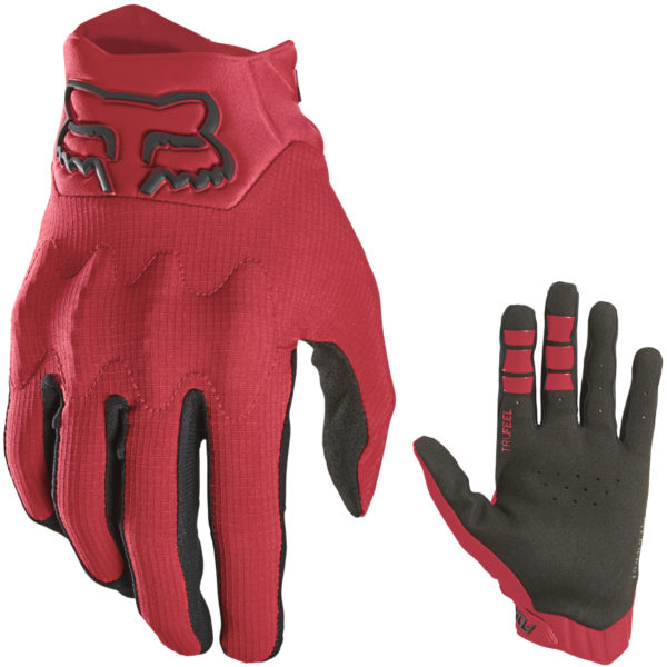 2021 Fox Bomber LT Glove Flame Red - 23948 122 1c