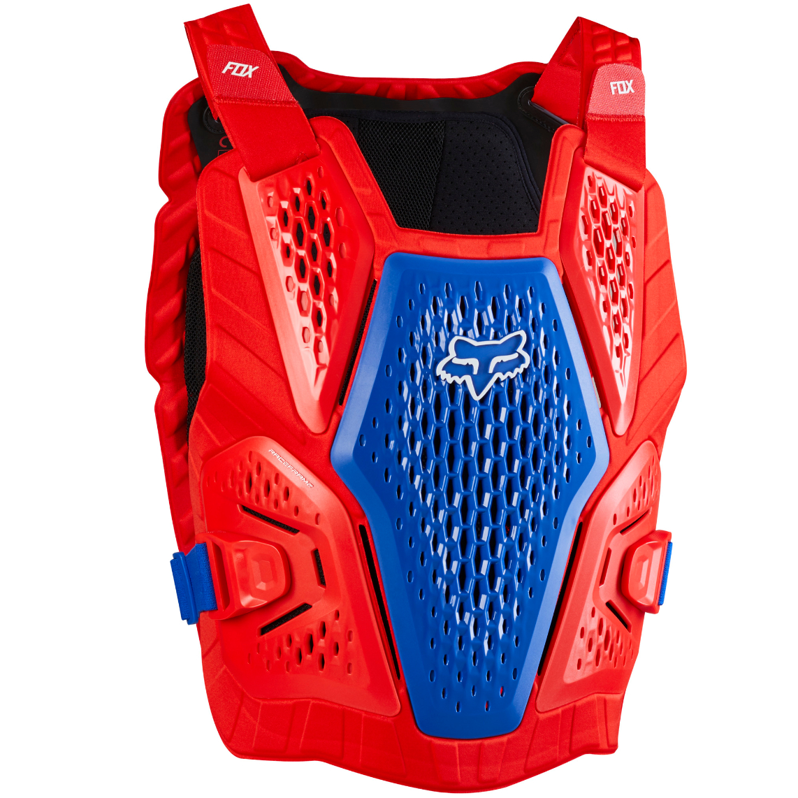2021 fox raceframe impact guard blue/red - 24865 149 1