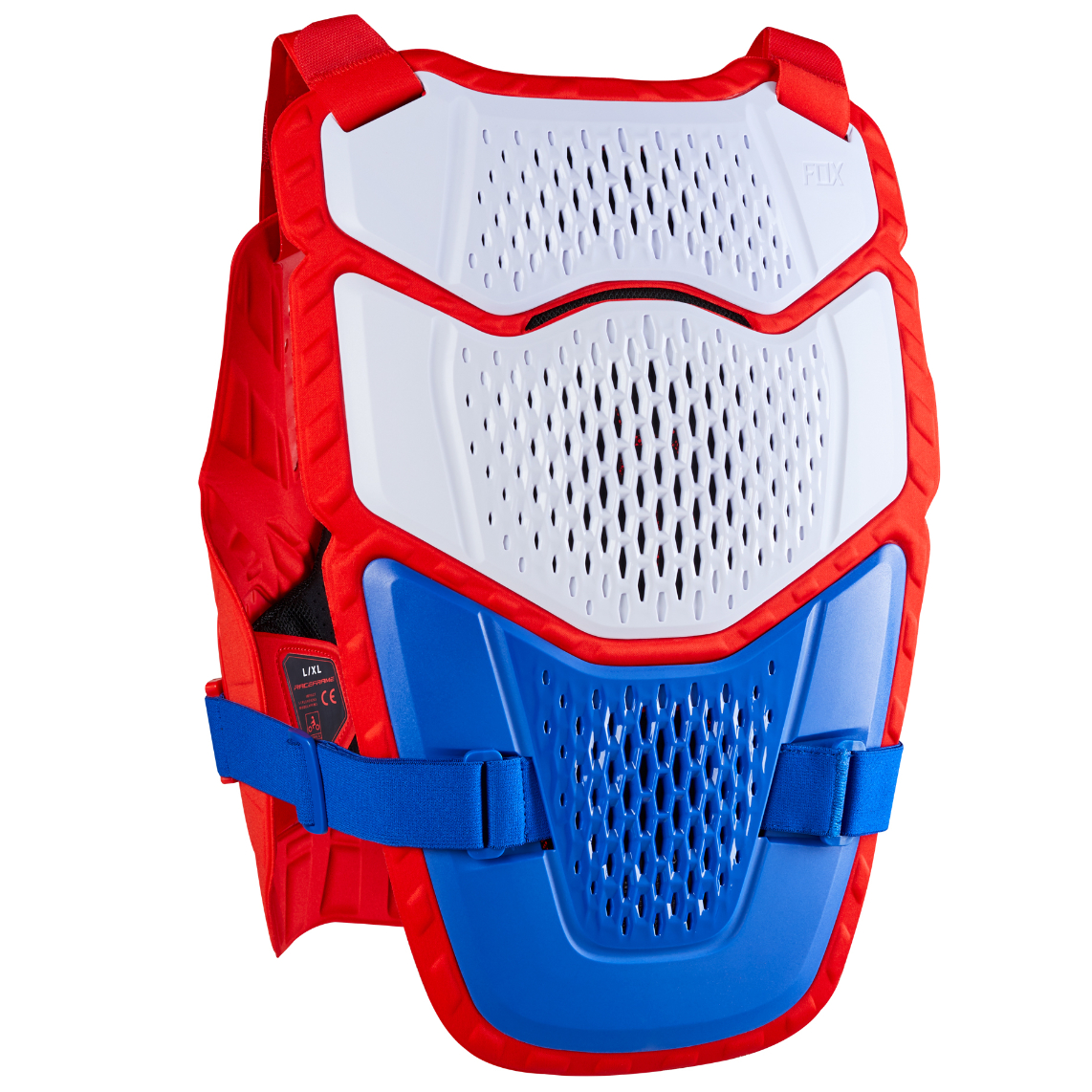 2021 fox raceframe impact guard blue/red - 24865 149 2