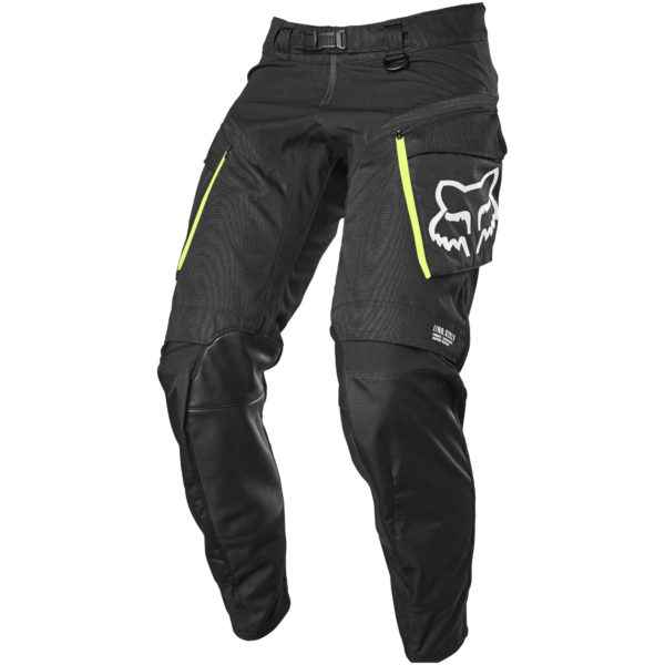 2021 Fox Legion Pant Black/Fluo Yellow - 25775 001 1