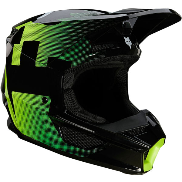 2021 fox v1 tayzer helmet black - 25820 001 1