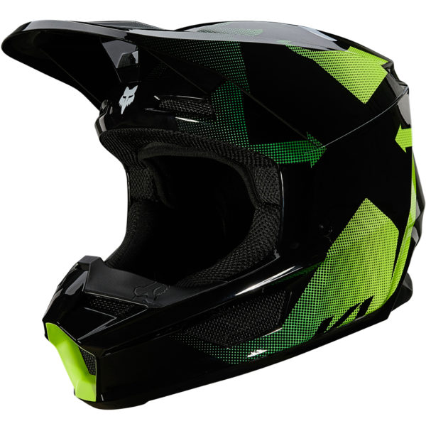 2021 fox v1 tayzer helmet black - 25820 001 2