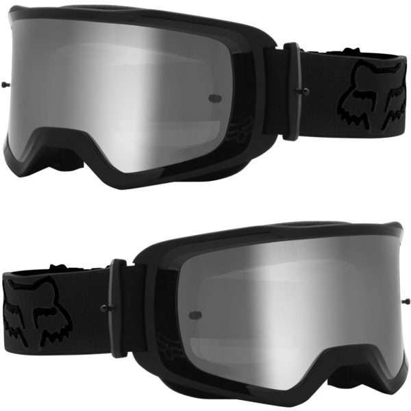2021 fox main ii stray goggle black - clear lens - 25834 001 1c