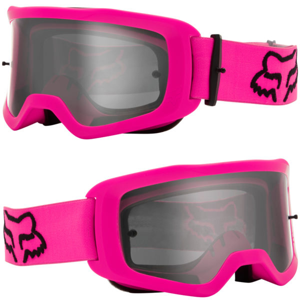 2021 fox main ii stray goggle pink - clear lens - 25834 170 1c