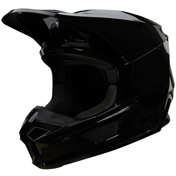 2021 fox v1 plaic helmet black - 26575 001 2