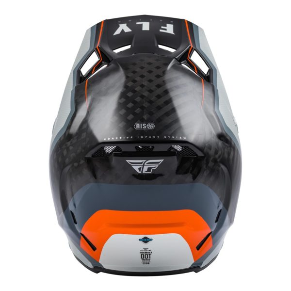 2021 Fly Formula Carbon Axon Helmet Black/Grey/Orange - 73 4428 1 Helmet Formula Axon 2021