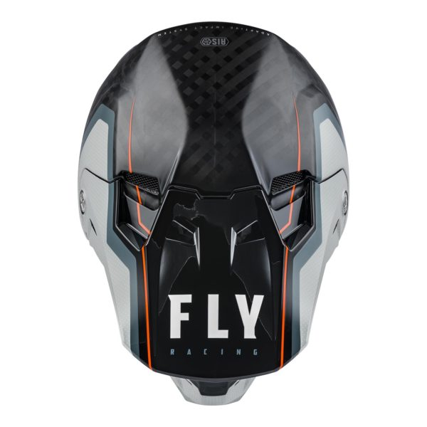 2021 Fly Formula Carbon Axon Helmet Black/Grey/Orange - 73 4428 2 Helmet Formula Axon 2021