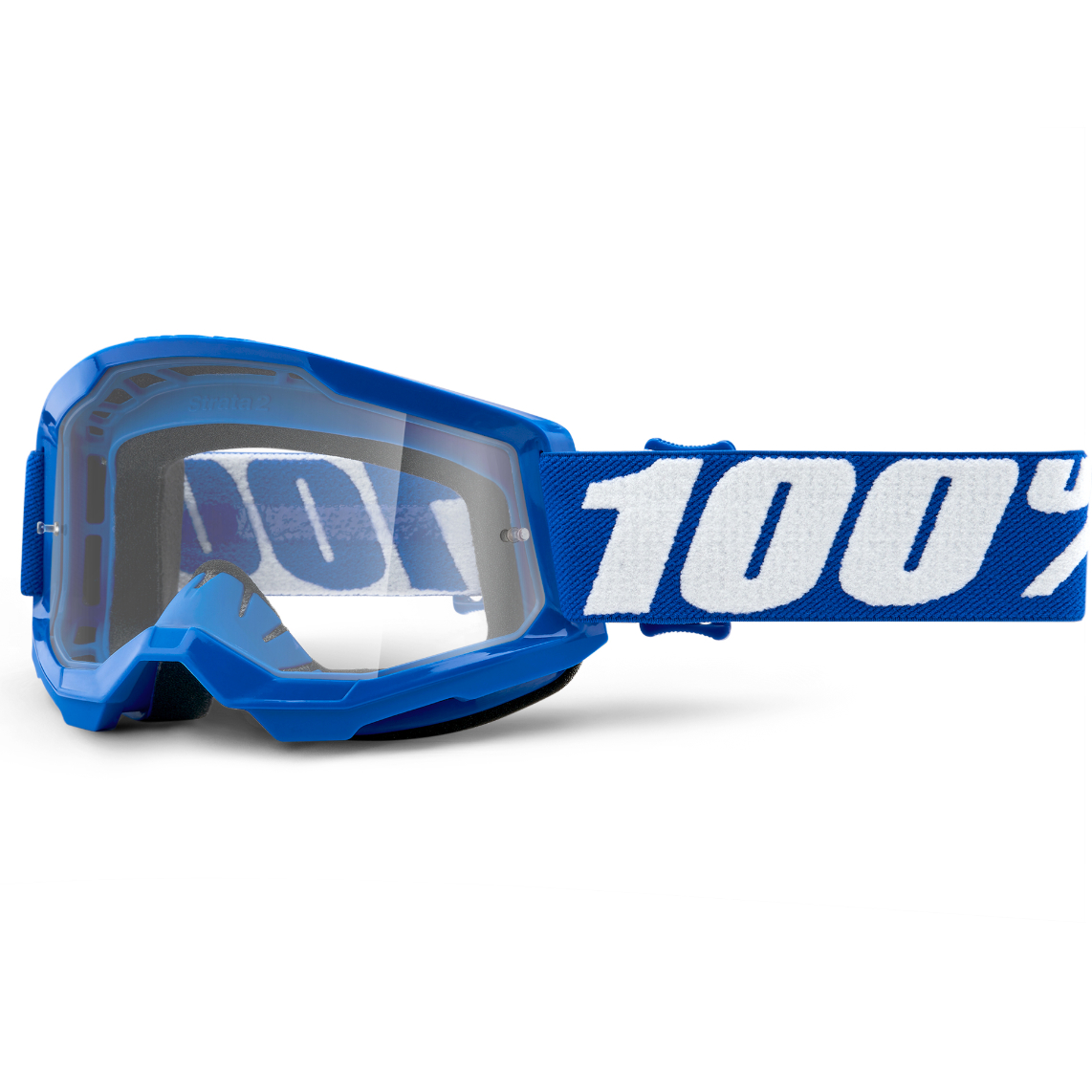 2021 100% strata 2 youth goggle blue - clear lens - 50521 101 02