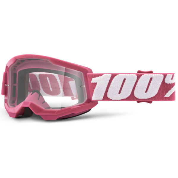 2021 100% Strata 2 YOUTH Goggle Fletcher - Clear Lens - 50521 101 06
